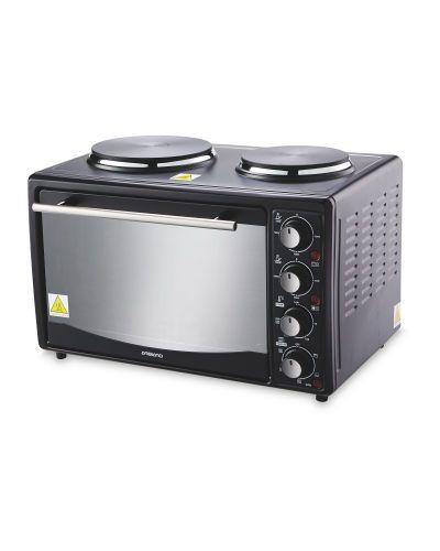 Aldi Mini Oven With Hobs instore at Aldi for £39.99