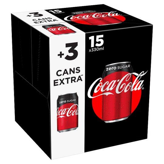 Tesco 18 cans of Coke Zero for £2 (Askham Bar York)