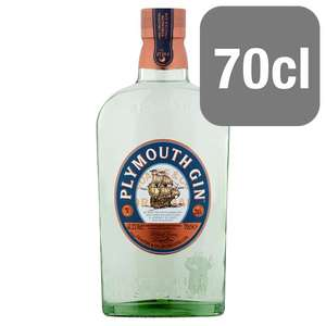 Plymouth Gin 70cl £13.52 instore @ Tesco Barrhead