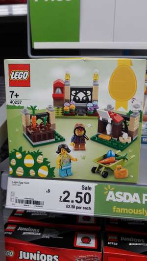 LEGO Easter Egg Hunt. £2.50 @ Asda (found Radcliffe / should be national)