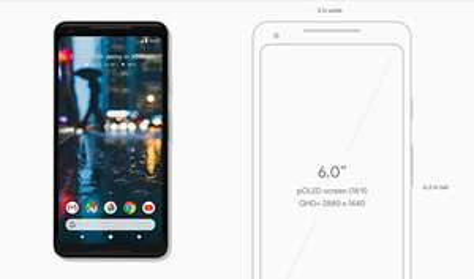 SIM-Free 64gb Google Pixel 2 XL @ mobiles.co.uk for £619 in black/white