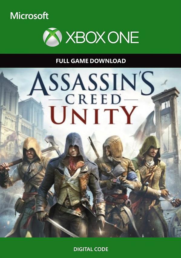 Assassins creed unity xbox one digital downloads 99p @ CDKeys