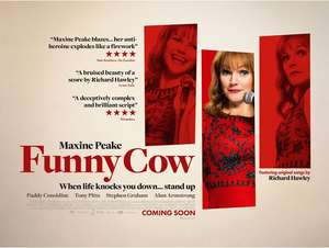 """Funny Cow"" Starring Maxine Peake : Free Movie Tickets via weticketit.com"
