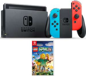 NINTENDO Switch & Lego Worlds - Neon - £279.97 @ Currys