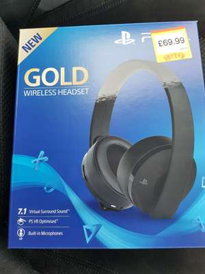 Sony Gold Wireless Headset - £69.99 @ Smyths