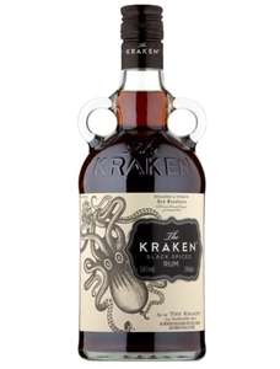 The Kraken Spiced Black Rum 70cl £20 at Tesco and Morrisons (£3.50 saving)