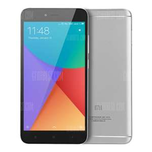 Xiaomi Redmi Note 5A 4G Phablet Global Version  -  GRAY (Spain Warehouse - No Customs) - £70.93 delivered @ Gearbest