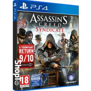 Assassin's Creed Syndicate PS4 + Free Delivery @ShopTo - £13.85