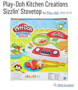 Play-Doh Kitchen Creations Sizzlin' Stovetop Now £8.99 @ Argos