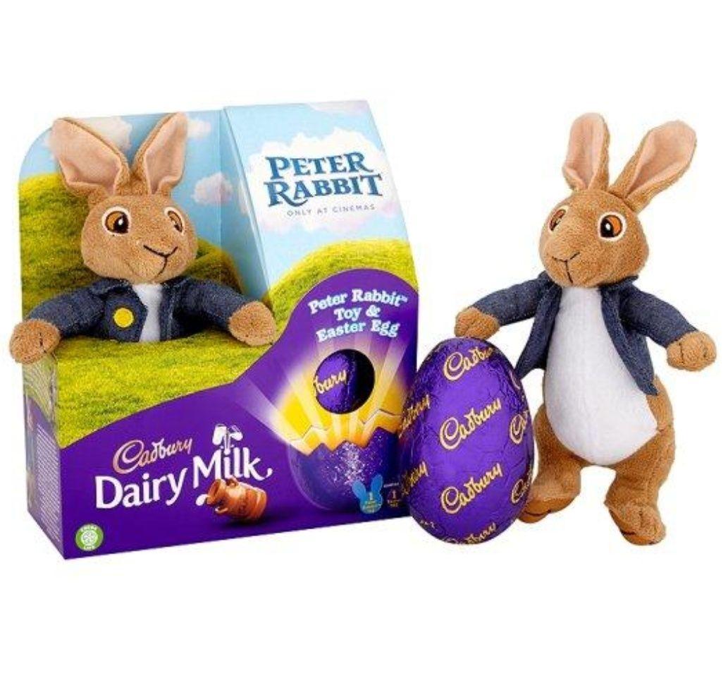 Cadbury Dairy Milk Peter Rabbit Toy & Easter Egg £1.80 instore / online at Sainsbury's