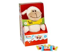 Kinder Fluffy Toy With Chocolate £1.80 instore / online at Sainsbury's