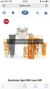 Sanctuary Spa With Love Gift (Worth £35) Was £16 Now £12 at Boots Online