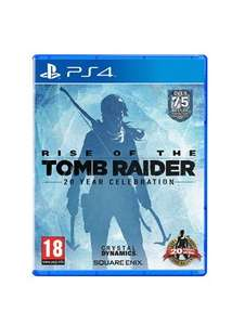 Rise of the tomb raider 20 Year Celebration (PS4) £15.85 @ Base