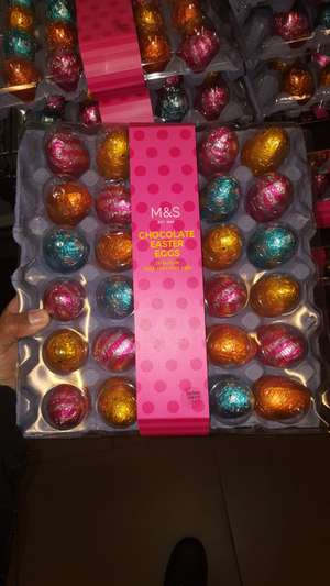 Easter Eggs M&S simply food birmingham new street train station £1.10