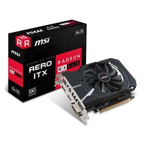 MSI AMD Radeon RX 560 AERO ITX OC 4GB gpu, £142.46 delivered at Scan