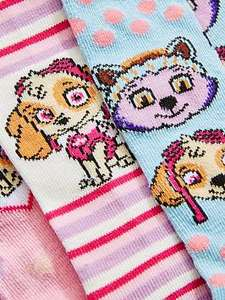 Paw Patrol Pack Of 3 Girls Tights £5 - Free c&c @ Littlewoods