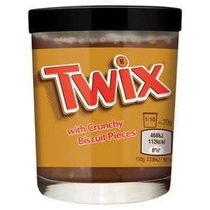 TWIX CHOCOLATE SPREAD 200G £1 @ Poundstretcher