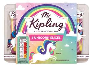 Mr Kipling Unicorn Slice 6pk 50p @ Asda Instore
