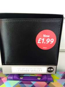 Leather Wallet £1.99 at Card Factory