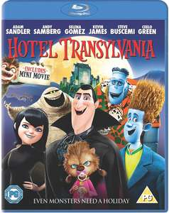 HOTEL TRANSYLVANIA BLU RAY+HD ULTRAVIOLET £1 also DVD version available@ POUNDLAND