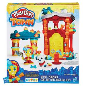 Play-Doh Town Firehouse £7.99 @ Home bargains