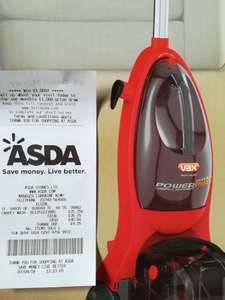 Vax power max, red £35.75 @ Asda - Elgin