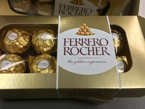 8 piece ferrero rocher £1 at poundland - national (reduced from £2)