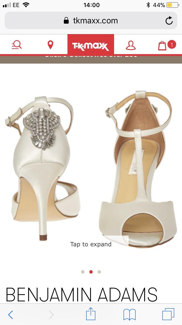 Benjamin Adams Wedding Shoes upto 85% off @ TK MAXX