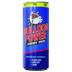 BULLDOG POWER ENERGY DRINK ORIGINAL 250ML@Poundstretcher