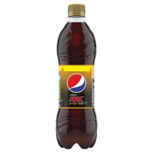 PEPSI MAX GINGER 500ML 25p @ Poundstretcher