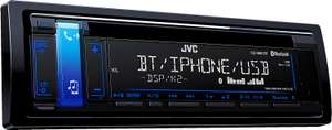 JVC KD-R881BT Car Stereo ( CD, Bluetooth, Front USB+AUX-Input ), £62 from Amazon