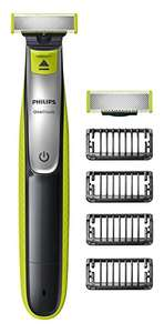 Philips OneBlade Hybrid Trimmer & Shaver with 4 x Lengths & 1 Extra Blade £29.49 Amazon Exclusive (UK 2-Pin Bathroom Plug) - QP2530/30