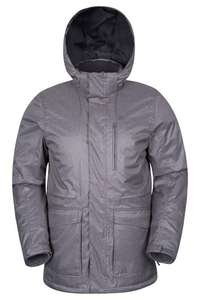 Atlantis Mens Winter Lined Jacket - Grey £19.99 @ mountain warehouse - Free c&c for orders over £20