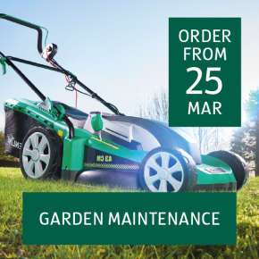 1800W 43cm (large) Electric Lawn Mower just £79.99 at Aldi from Thursday 12 April. 3 Year warranty too!