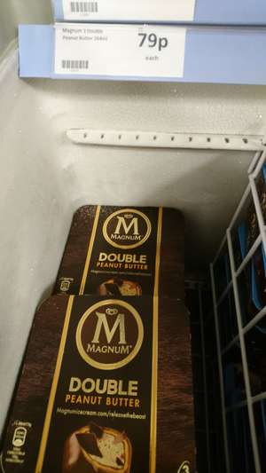 Magnum 3x double peanut butter @ heron foods for 79p