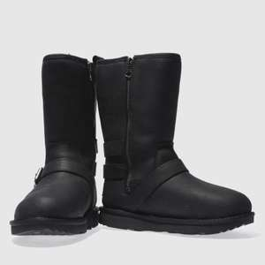 Schuh online deal kids ugg black kaila Girls Junior Boots size 9 / 10 - £43.99 delivered @ Schuh