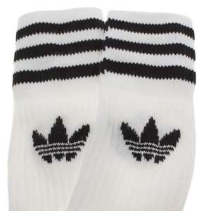 Schuh online deal adidas white & black kids solid crew 3 pack size 9.5 / 11.5 - £4.99 @ Schuh (free C&C)