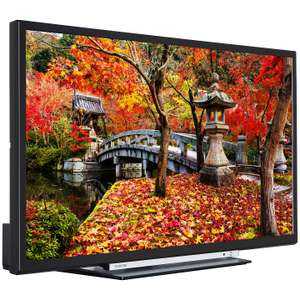Toshiba 32 full HD WiFi Smart tv With Freeview HD & Freeview Play Inc 5year warranty - £199 @ John Lewis