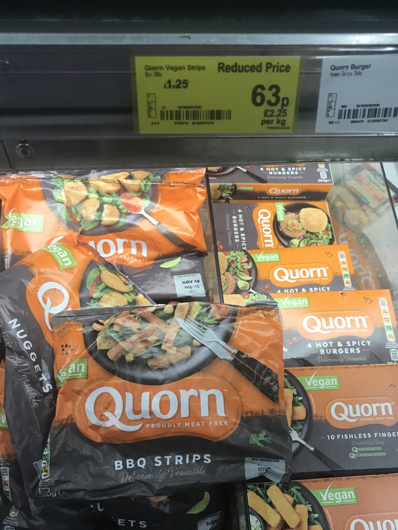 Quorn Vegan BBQ Strips - 63p instore @ Asda