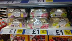 Border Biscuits (Viennese Whirls, White Chocolate & Strawberry, Lemon Drizzle) £1 In Store @ Tesco Metro, St Enoch, Glasgow