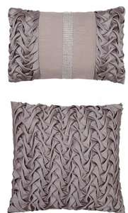 MIA SATIN CUSHIONS (PAIR) Were £25 Now £12 Free Click & Collect @ Very