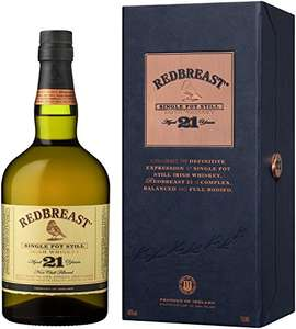 Redbreast 21 Year Old Single Pot Still Whisky at Amazon for £129
