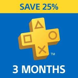 PlayStation Plus - 25% Off 3-Month Subscription £14.99 @ PlayStation Store