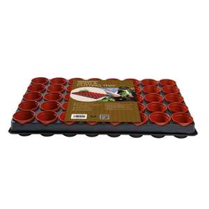 Professional Seed and Cutting Tray (40 x 6cm Pots) - Garland £4.99 @ Robert Dyas