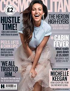 35% off Cosmopolitan Issue Prices - month's Subscription on Amazon Kindle for £7.69