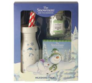 Snowman Milkshake Drink With Cookies £15.99 > £2.99 at Argos