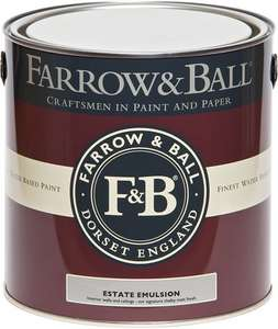Farrow & Ball Estate Emulsion £35 for 2.5l at Bunnings in-store