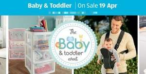 Preorder is live Now ---- Aldi Baby Event April the 15th online, in store from 26th