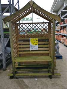 Forest parisienne arbour was £180 now £75 @ Homebase, Newport Rd, Cardiff only
