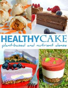 Free Healthy Cake Recipe Book - plant-based diet